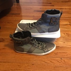 Men Aldo gray boot 9.5